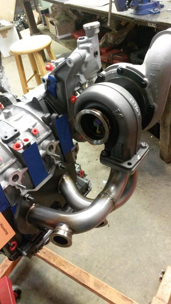 IRP Borg Warner S360/362/366 Single Turbo Kit
