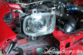 SakeBomb Garage Bi-Xenon HID Projector Headlights