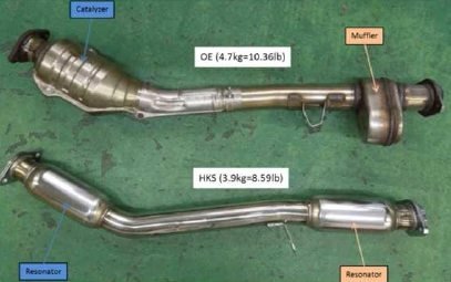 Hks Stainless Front Pipe Subaru Brz Scion Fr S Toyota