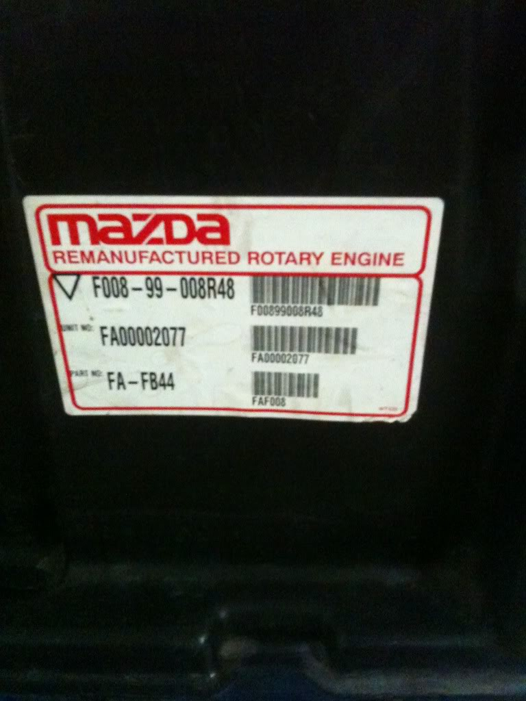 13B MSP Mazda Remanufactured Engine, Mazda RX-8