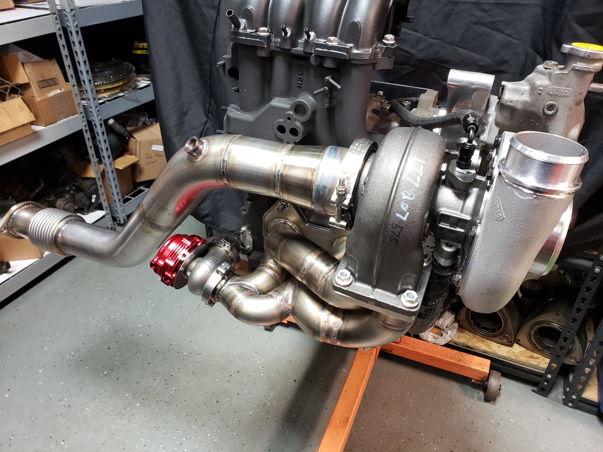 IRP Borg Warner S360/362/366 Single Turbo Kit – IR Performance