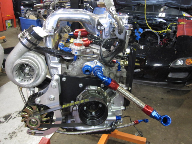 Engine Build with A-Spec 500R Single Turbo – IR Performance